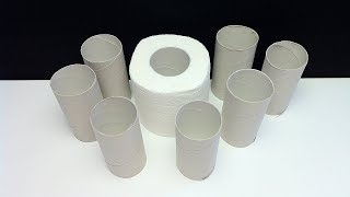 Toilet paper roll craft - 4 Creative Ideas Recycle Toilet Paper Rolls - [No.7]