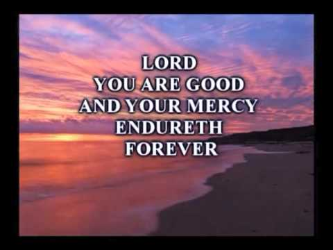 Lord You Are Good Lyrics video