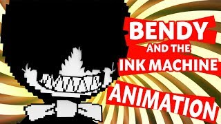"♫BENDY AND THE INK MACHINE SONG♫~""Spotlight"" (Minecraft Animation)"