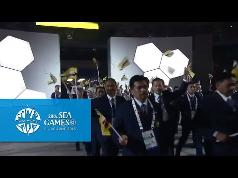 Athletes March - Brunei | 28th SEA Games Singapore 2015
