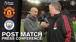 Post Match Press Conference | Manchester United v Manchester City | Ole Gunnar Solskjaer