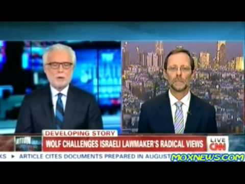 Feiglin Responds to Hamas 'Concentration Camp' Allegations  CNN משה פייגלין ב