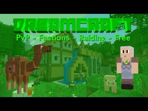 Dreamcraft 1.7.2 / 1.7.4 | Cracked - Factions - Raid - PvP - 24/7 - No Lag - Min