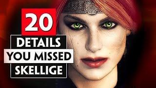 20 Details You Probably Missed in Skellige | THE WITCHER 3