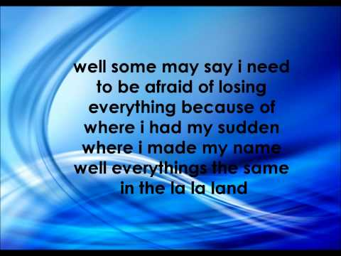 Demi Lovato La La Land Lyrics video
