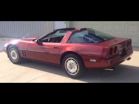 FOR SALE 1986 Chevrolet CORVETTE IN WARSAW IN 46582