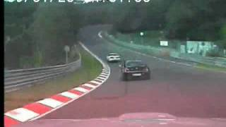 Toyota supra at the nurburgring