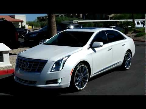 2013 cadillac xts white diamond tricoat rear vision. Black Bedroom Furniture Sets. Home Design Ideas