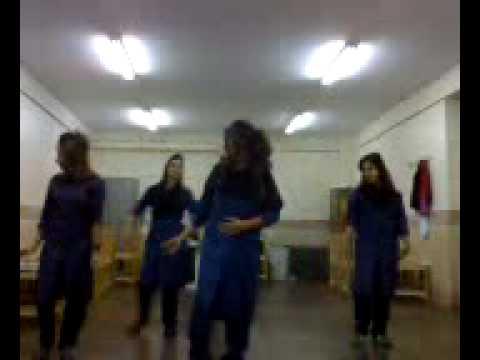 رقص دختر های دبیرستانی در ایرانpersian iranian  school girls