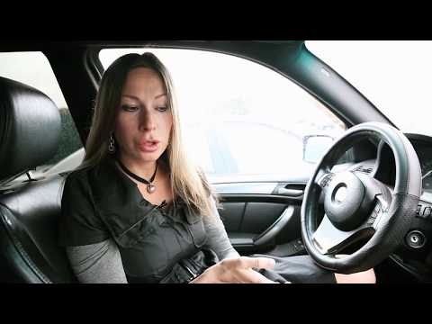 Убитый БМВ/BMW Х5. Лиса Рулит.