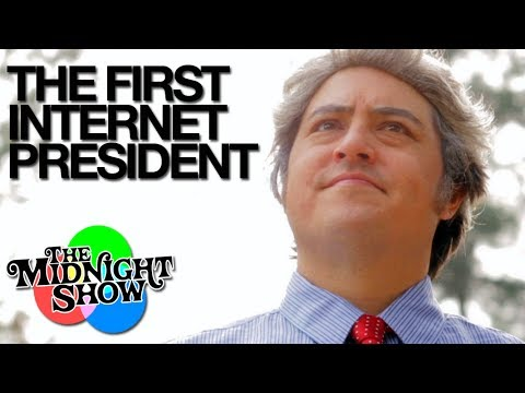 The First Internet President