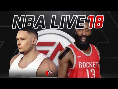 У МЕНЯ НОВАЯ ЛЮБИМАЯ ИГРА! - NBA LIVE 18 DEMO - The One - Chapter 1