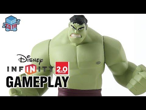 Disney Infinity 2.0 HULK Gameplay Avengers 02
