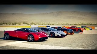 World's Greatest Drag Race! Veyron, AGERA, McLaren P1, Huayra, Veneno, Venom GT - Forza 5