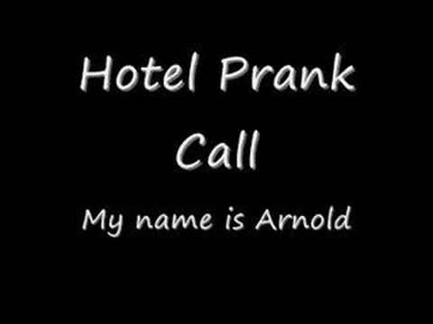 Funny Prank Call - My Name Is Arnold video