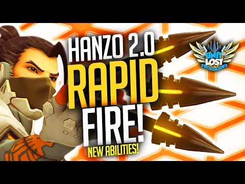 Overwatch - Hanzo PTR Volley and Lunge NEW ABILITIES DETAILS!