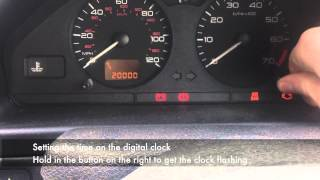 Peugeot 106 Service Interval Reset