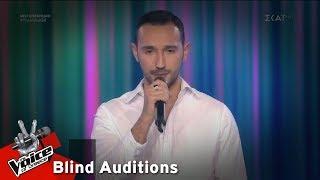 Θέμης Αγγελίδης - Chasing Cars   7o Blind Audition   The Voice of Greece