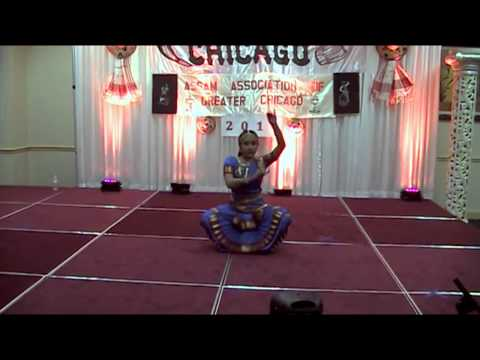 Dr Meelie Bordoloi's - Hanuman Stuti At Chicago Bihu video