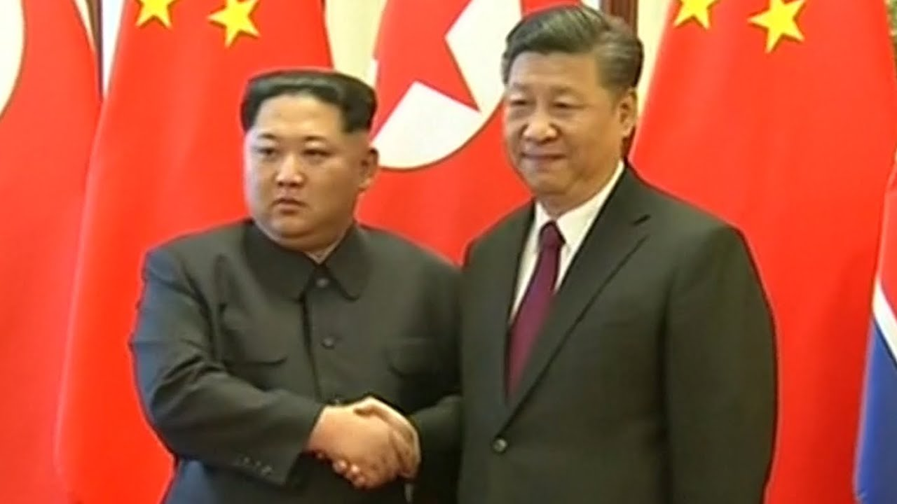 North Korea's Kim Jong-un meets with China's Xi Jinping