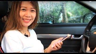 Trải nghiệm sản phẩm đầu karaoke di động Boxt BT6000 trên xe hơi.