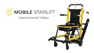 Introducing the Mobile Stairlift — Portable Stair Climbing Wheelchair