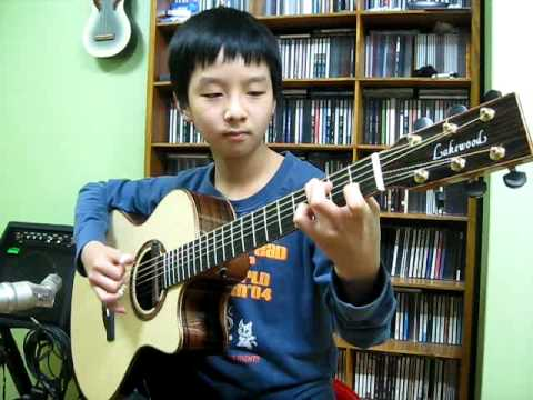 Sungha Jung - Right Here Waiting