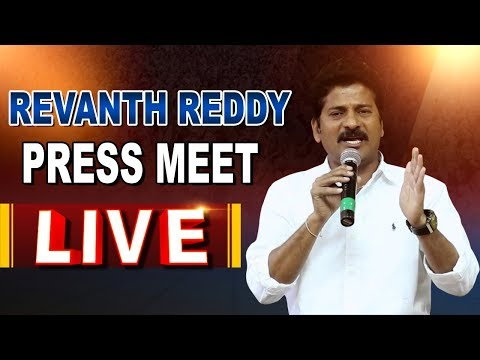 Revanth Reddy Press Meet After IT Raids || Revanth Reddy Live Speech || ABN LIVE