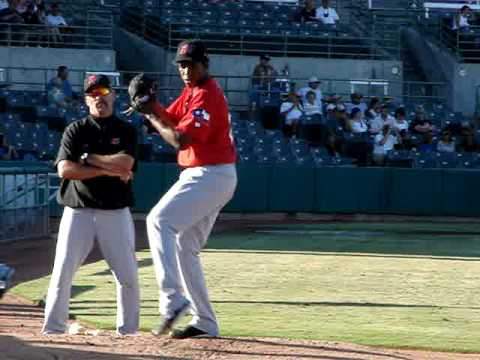 Neftali Feliz of the Frisco RoughRiders (Texas)