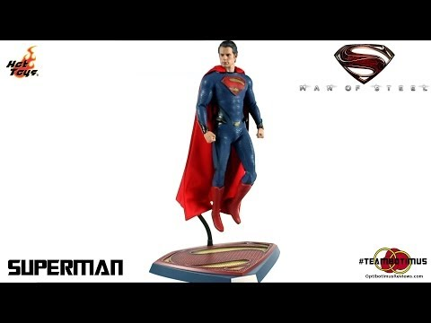 Video Review of the Hot Toys: Man of Steel Superman