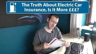 The Truth About Electric Car Insurance! Is It More Expensive???