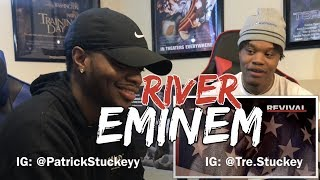 Eminem - River (Audio) ft. Ed Sheeran - REACTION