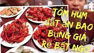 Vlog 504 ll Buffet Ăn Thả Ga Chỉ 500 Ngàn Tôm Hùm Đất, Sushi, Cua Đá