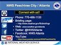 NWS Atlanta Weekly Weather Briefing for December 29, 2020