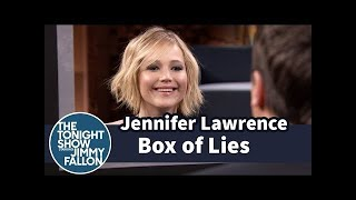 Jennifer Lawrence and Jimmy Play Box of Lies