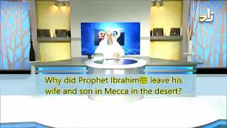 Video: Why did Abraham leave Hagar, his wife and Son in the desert? - Assim Al-Hakeem