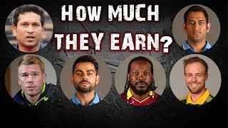 Top 10 Richest Cricketers in the World 2017 - Top 10 Plus