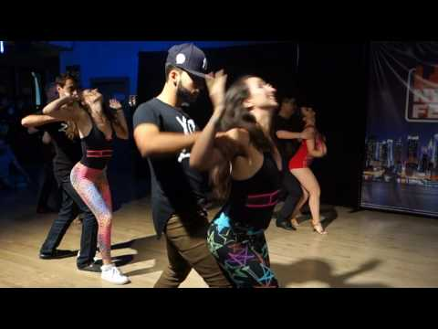 00138 NYCZF2016 Aline and Charles team ~ video by Zouk Soul