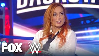 Becky Lynch becoming 'The Man', feuding with Asuka, more | WWE BACKSTAGE | WWE ON FOX