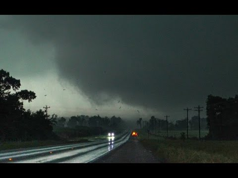 Canton Texas Tornado - April 29, 2017 RAW footage