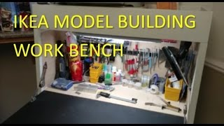 Ikea Modeling Workbench for modelers without extra room.
