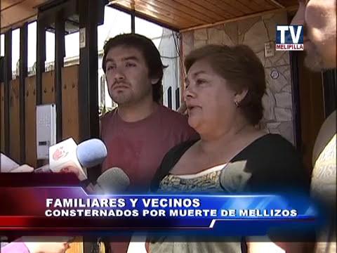08 NOV. 2013 NOTA EN MELIPILLA REALIZAN AUTOPSIAS A MELLIZOS CALCINADOS EN PEÑAFLOR