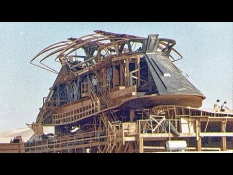 Wood From Jabba's Sail Barge Used To Build A Yuma, AZ House