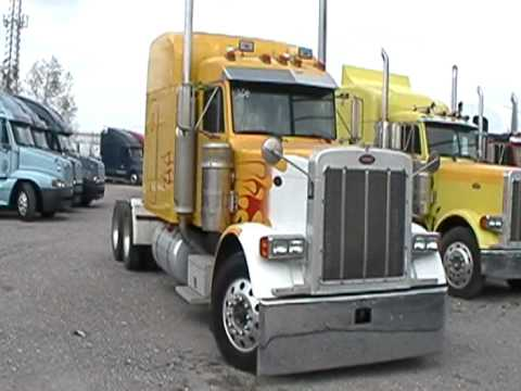 2001 Peterbilt 379 Custom 13 SPD CAT C15