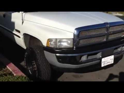 1999 Dodge Ram 2500 4x4 Cummins Diesel Quad Cab Flat Bed SLT Laramie