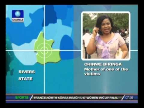 Port Harcourt Killings: There is no security in Nigeria - Mother of Chiadika Biringa