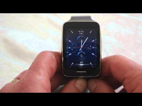 Samsung Gear S smartwatch first boot and impressions
