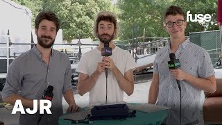 Download Lagu How Well Do AJR Know Each Other? | Music Midtown 2017 Gratis STAFABAND