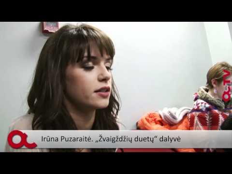Irūnai dainuoti patinka labiau nei šokti (interviu)