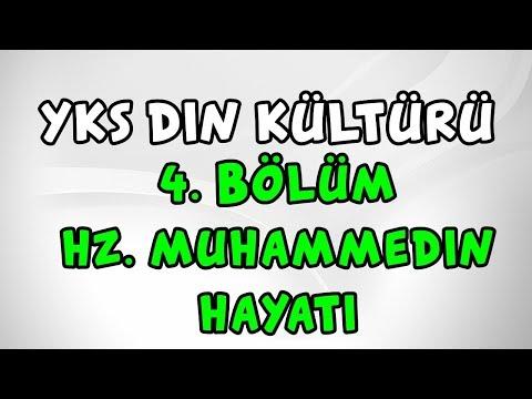2019 YKS Din Kültürü 4. Bölüm (Hz. Muhammed'in Hayatı) TYT AYT